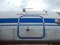 L'aviation donne à l'électrodéposition une consistance rugueuse des avions et de l'hélicoptère Images libres de droits