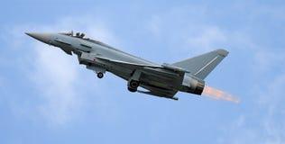 L'avion à réaction décollent Photo libre de droits