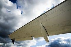 Jet privé dans le hangar Image stock