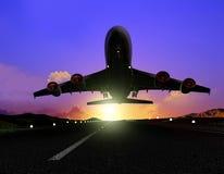 L'avion image stock