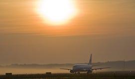 L'avion Photographie stock libre de droits