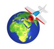L'avion #3 de jouet Image libre de droits