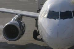L'avion décollent Photographie stock