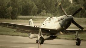 L'avion d'air américain de vintage a stylisé pour la guerre mondiale 2 clips vidéos