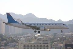 L'avion de passagers Images stock