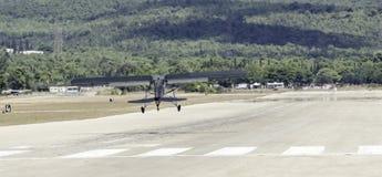 L'avion de reconnaissance ww2 décollent photographie stock