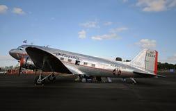 L'avion du vol le plus ancien DC-3 Photos libres de droits