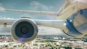 L'avion enlèvent la version de Cologne Allemagne deuxièmes clips vidéos