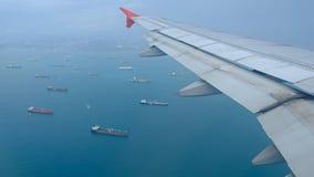 L'avion préparent au débarquement clips vidéos