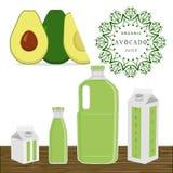 L'avocado di tema illustrazione di stock