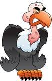 L'avvoltoio si è appollaiato Fotografia Stock