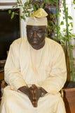 L Ayodele Ayodeji Besuch von Botschafter der Bundesrepublik Stockfotografie