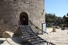 l'azerbaïdjan bakou Enterence à la première tour Photo stock