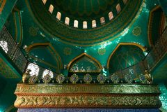 L'Azerbaïdjan, Bakou - 22 mars 2017, mosquée de Bibiheybat dans la république islamique, Bakou, Azerbaïdjan Photos stock