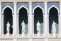 l'azerbaïdjan bakou Musée de la littérature de l'Azerbaïdjan baptisé du nom de Nizami Photo libre de droits