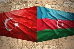 L'Azerbaïdjan et la Turquie Photo stock
