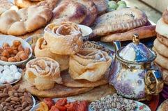L'Azerbaïdjan traditionnel a fait cuire au four images libres de droits