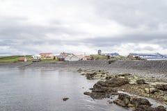 L'azienda agricola alloggia l'Islanda Immagini Stock Libere da Diritti