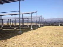 L'azienda agricola solare Fotografie Stock