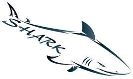 L'azienda dello squalo Fotografie Stock Libere da Diritti