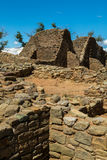 L'Aztèque ruine le monument national au Nouveau Mexique Photos libres de droits