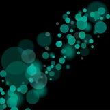 L'azzurro astratto illumina la priorità bassa Fotografia Stock