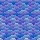 L'azzurro fluttua nello stile giapponese Immagini Stock