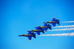L'azzurro inclina la formazione Fotografia Stock Libera da Diritti