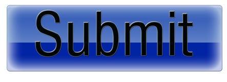 L'azzurro presenta Immagini Stock Libere da Diritti