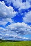 l'azzurro si apanna il cielo Fotografie Stock Libere da Diritti