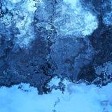 L'azzurro spruzza royalty illustrazione gratis