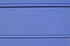 L'azzurro weatherboard la struttura immagini stock libere da diritti
