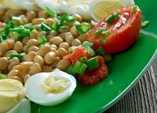 L Bean Salad arkivfoto