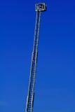 L'échelle du sapeur-pompier Image libre de droits