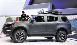 2.8L Chevrolet Trailblazer LTZ at the 36th Bangkok International Motor Show Stock Photography