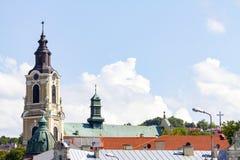 › L città di PrzemyÅ Fotografie Stock Libere da Diritti