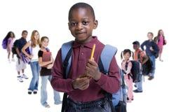 L'école badine la diversité Photos stock