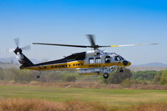 L.A. County Fire - Sikorsky S-70 Stock Image