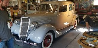 l coupe 1935 Форда стоковое изображение
