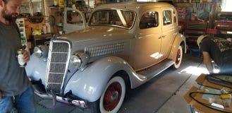 l 1935 cupé de Ford imagen de archivo