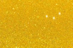 L de oro Twinkly foto de archivo