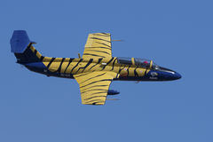 L-29 Delfin flypast Royalty Free Stock Photo