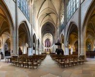 L& x27 di St Germain - di Parigi; Chiesa di Auxerrois fotografia stock
