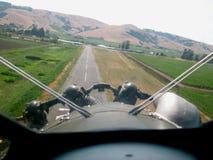 lądowanie Zdjęcie Royalty Free