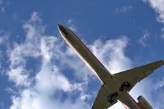 lądowanie jet Obraz Stock