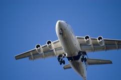 lądowanie jet fotografia royalty free