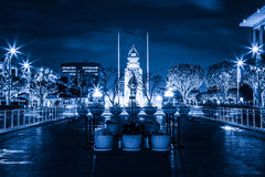 L.A. du centre. Images libres de droits