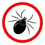 L?dzieniec insekta znaka wektoru ikona ilustracji