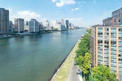 L'East River Images libres de droits