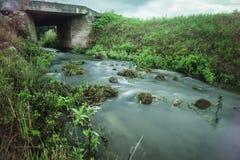 L'eau à temps Photos libres de droits